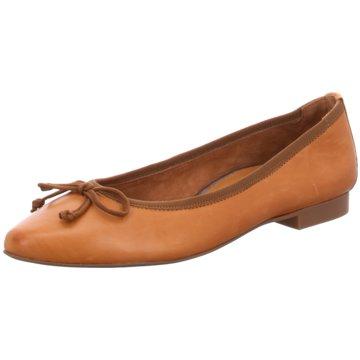 Paul Green Klassischer Ballerina2480 braun
