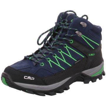 CMP F.lli Campagnolo Outdoor SchuhRIGEL MID TREKKING SHOE WP - 3Q12947 blau