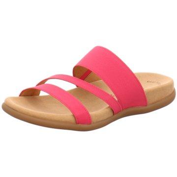 Gabor Komfort Pantolette pink