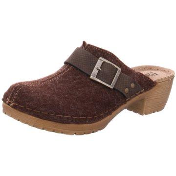 Fischer Schuhe Clog braun