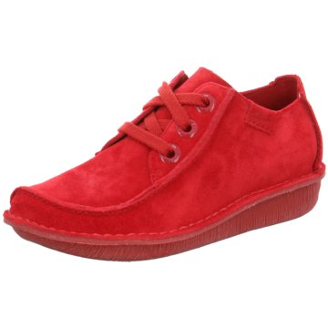 Clarks Komfort MokassinFUNNY DREAM rot