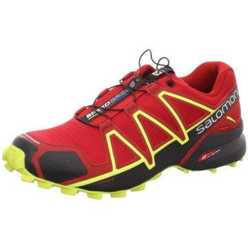 Salomon TrailrunningSpeedcross 4 rot