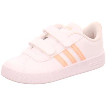adidas Sneaker LowVL COURT 2.0 CMF I - EE6909 weiß