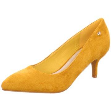 Hengst Footwear Klassischer Pumps gelb