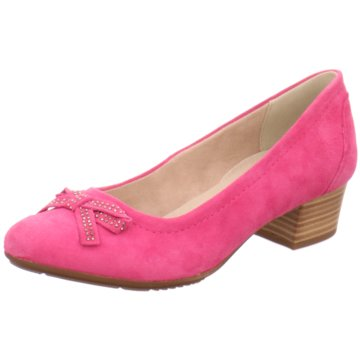 Jana Flacher Pumps rosa