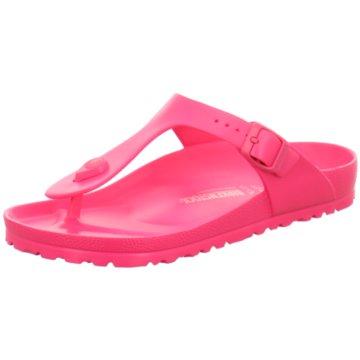 Birkenstock Bade- ZehentrennerGizeh EVA[Kunststoff pink