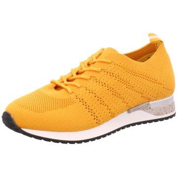 Idana Sportlicher Schnürschuh gelb