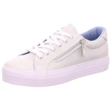 Pep Step Plateau Sneaker weiß