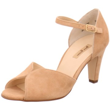 Paul Green Peeptoe beige