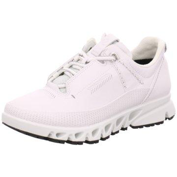Ecco Sneaker LowMulti-Vent W weiß