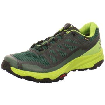 Salomon Trailrunning grün