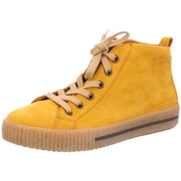 Gabor Sportlicher SchnürschuhStiefel gelb