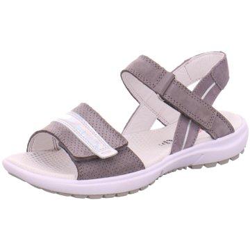 Superfit Offene Schuhe grau