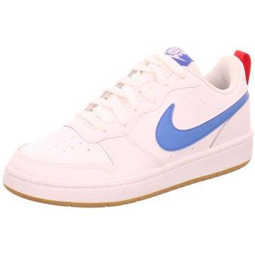Nike Sneaker LowNike Court Borough Low 2 Big Kids' Shoe - BQ5448-109 weiß
