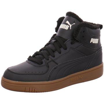 Puma Sneaker High REBOUND JOY FUR - 375576 schwarz