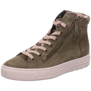 Paul Green Sneaker High oliv
