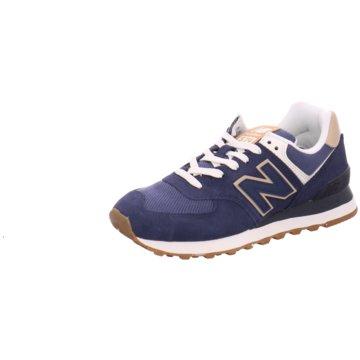 New Balance Sneaker LowWL574SO2 - WL574SO2 B blau