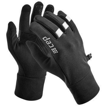 CEP Fingerhandschuhe WINTER RUN GLOVES - W0M2W schwarz