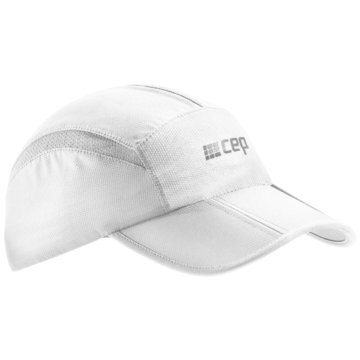 CEP Mützen RUNNING CAP - W0MCC weiß