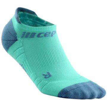 CEP Hohe Socken NO SHOW SOCKS 3.0 - WP46X grün