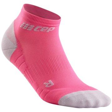 CEP Hohe Socken LOW CUT SOCKS 3.0 - WP4AX rosa