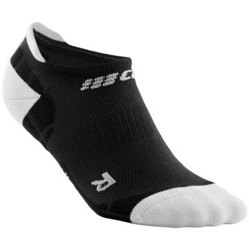 CEP Hohe Socken ULTRALIGHT NO SHOW SOCKS - WP56Y schwarz