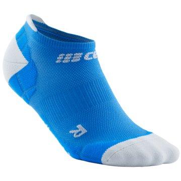 CEP Hohe Socken ULTRALIGHT NO SHOW SOCKS - WP56Y blau