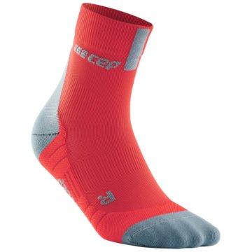 CEP Hohe Socken SHORT SOCKS 3.0 - WP5BX rot