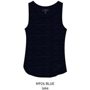 CMP TopsWOMAN TOP - 30T7246 blau