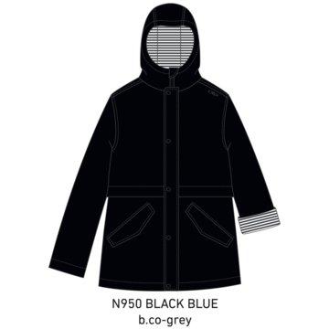 CMP RegenjackenKIDS JACKET FIX HOOD - 30X9734 blau