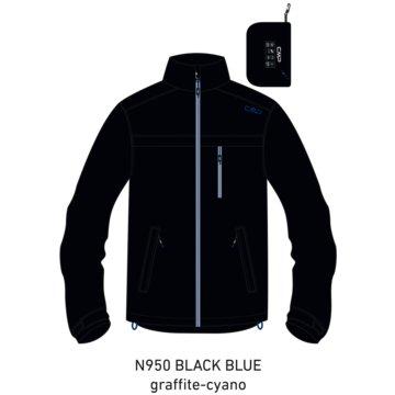 CMP RegenjackenMAN RAIN FIX HOOD JACKET - 30X9757 blau