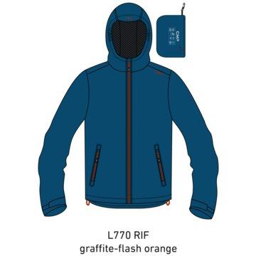 CMP RegenjackenBOY JACKET FIX HOOD - 39X7984 blau