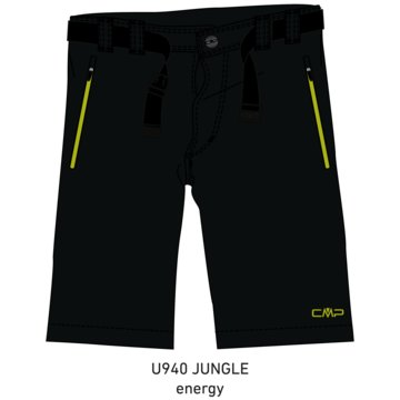 CMP Kurze SporthosenKID BERMUDA - 3T51844 grün