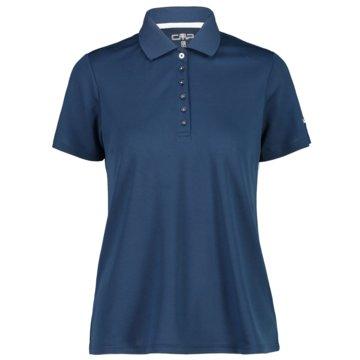 CMP PoloshirtsWOMAN POLO - 3T59676 blau