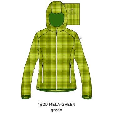 CMP RegenjackenGIRL JACKET FIX HOOD - 3X57725 grün