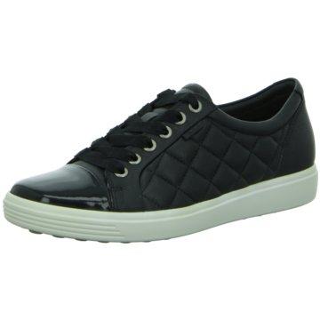 Ecco Sneaker LowSoft 7 schwarz