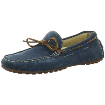 Ecco Bootsschuh blau