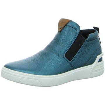Ecco Sneaker High türkis