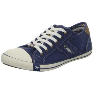 Mustang Sneaker Low blau