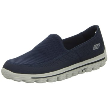 Skechers Natural RunningGOwalk 2 blau