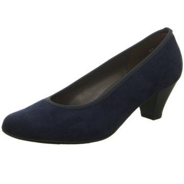 Jenny Komfort Pumps blau