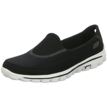 Skechers Sportlicher SlipperGO Walk 2 schwarz
