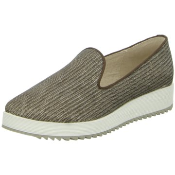 Buffalo Plateau Slipper braun