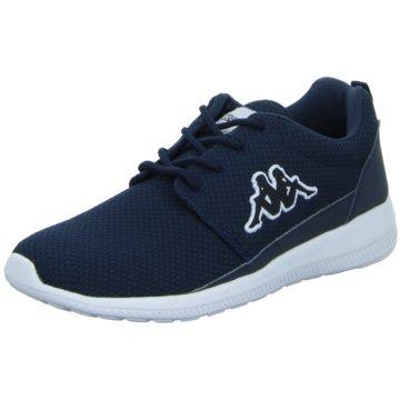 Kappa Sneaker Low blau