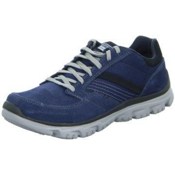 Skechers Sportlicher SchnürschuhL-Fit Comfort blau