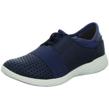 Tamaris Sportlicher Slipper blau