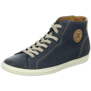 Paul Green Sneaker High blau