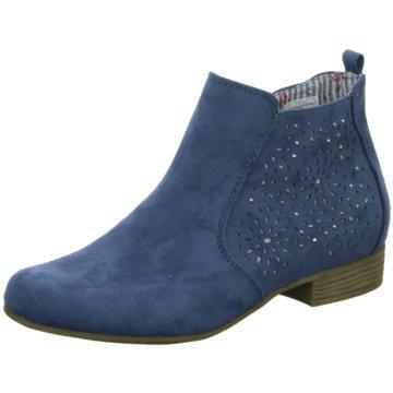 Supremo Ankle Boot blau