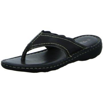 Tamaris Komfort Pantolette schwarz