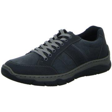 Rieker Komfort SchnürschuhSneaker schwarz